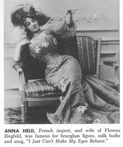 Famous Tightlacers -- Anna Held
