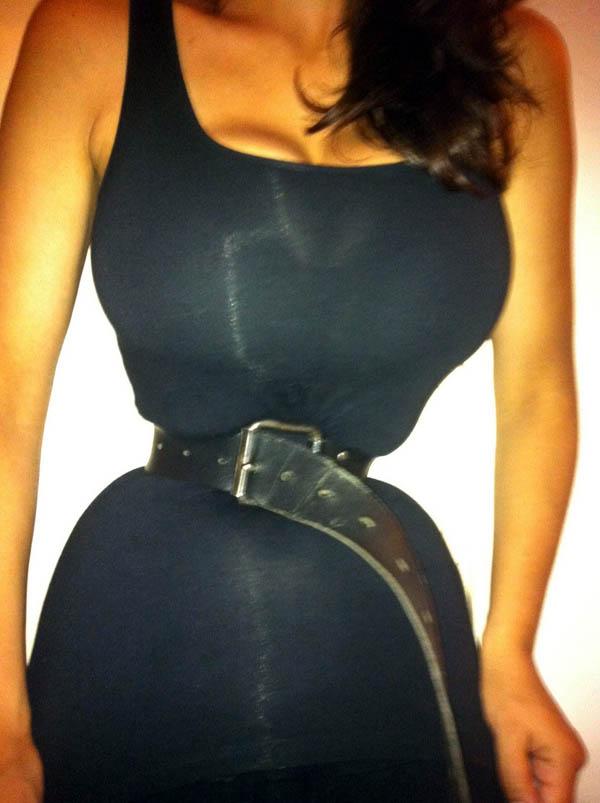 Tight Belt Girl
